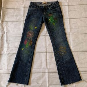 Paige Laurel Canyon Low Rise Boot Cut Jean Size 24
